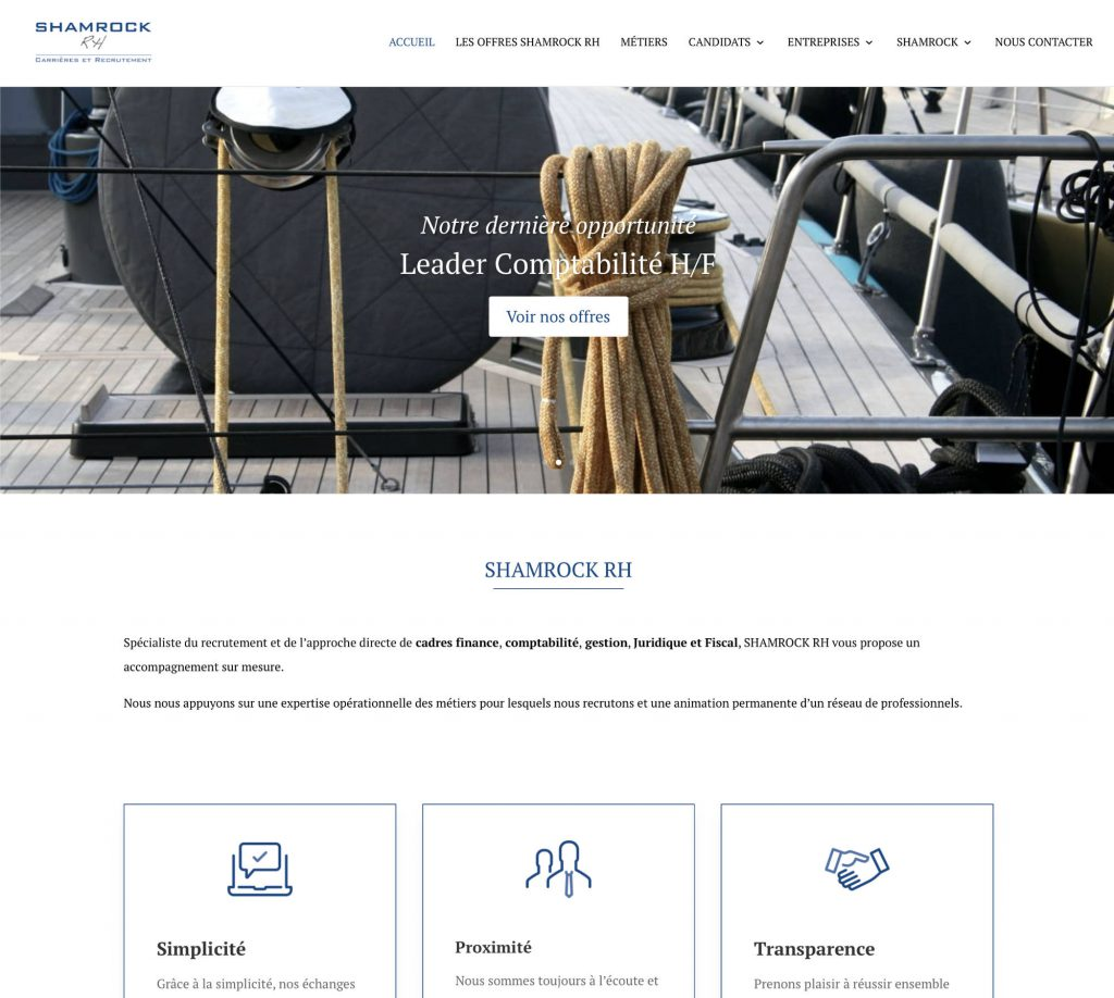 développement site Shamrock RH
